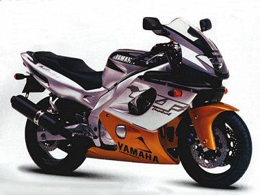 Thundercat  on Yamaha Yzf 600 R Thundercat 1997   Fiche Moto