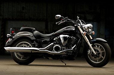 moto Yamaha XVS 1300 A MIDNIGHT STAR 2013