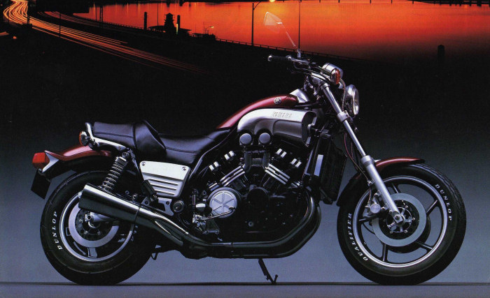 yamaha 1200 v max 1986 fiche moto motoplanete. Black Bedroom Furniture Sets. Home Design Ideas