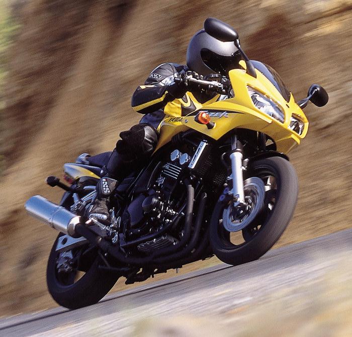 Yamaha 600 fazer fzs 2002 fiche moto motoplanete Porte clef yamaha
