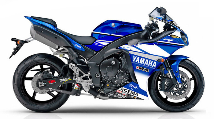 yamaha yzf r1 1000 gmt 94 replica 2009 fiche moto. Black Bedroom Furniture Sets. Home Design Ideas