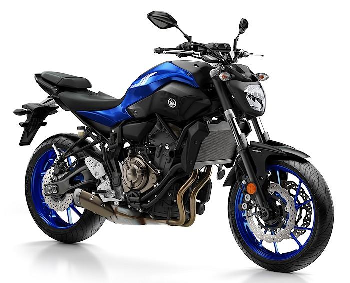 moto yamaha 700
