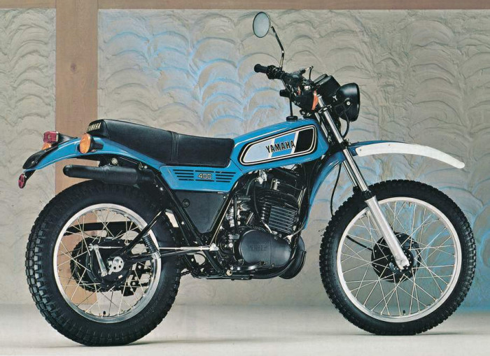 Yamaha DT 400 MX
