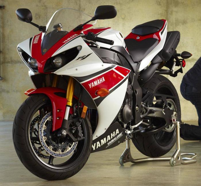 yamaha yzf r1 1000 wgp 50th anniversary 2012 fiche moto motoplanete. Black Bedroom Furniture Sets. Home Design Ideas