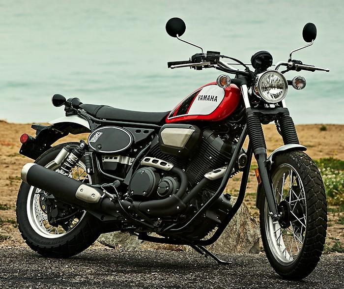 moto yamaha scr 950