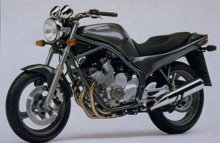 yamaha xj 600 diversion n et s 1992 fiche moto motoplanete. Black Bedroom Furniture Sets. Home Design Ideas