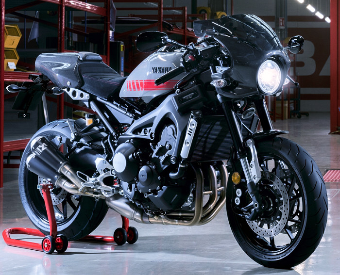 yamaha xsr 900 abarth 2019 fiche moto motoplanete. Black Bedroom Furniture Sets. Home Design Ideas