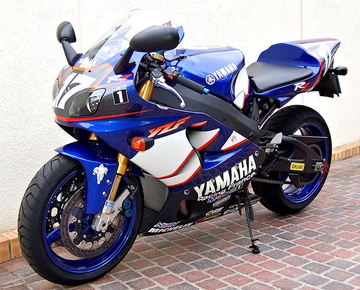 moto yamaha 750