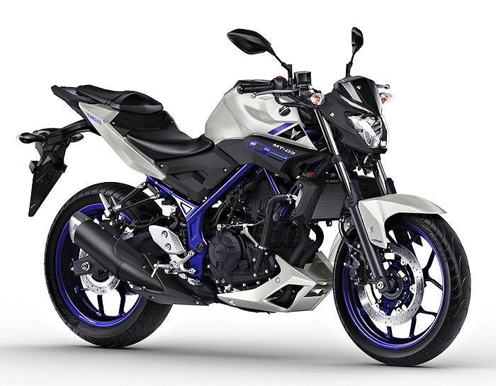 Yamaha mt 03 320 2016 fiche moto motoplanete for Yamaha mt 03