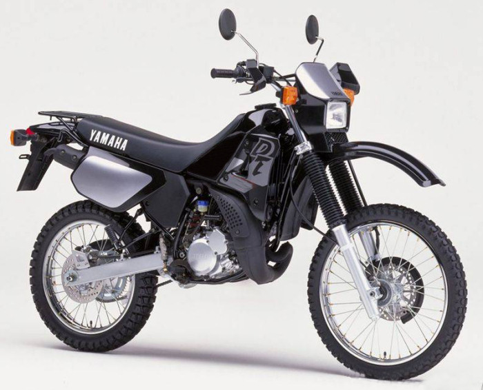 yamaha dtr 125 1989 fiche moto motoplanete. Black Bedroom Furniture Sets. Home Design Ideas