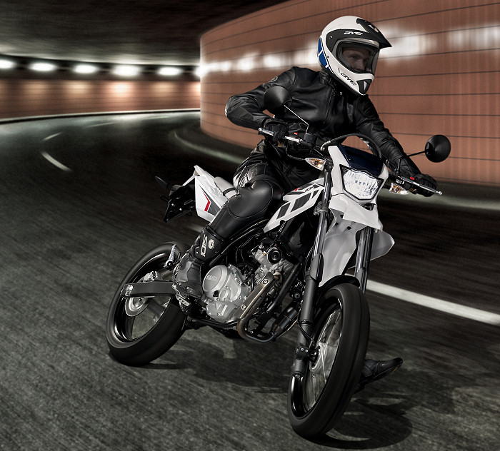 moto yamaha wr 125 x occasion