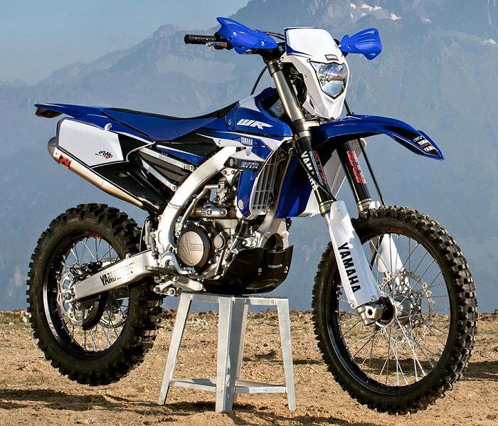 moto yamaha 450 wr