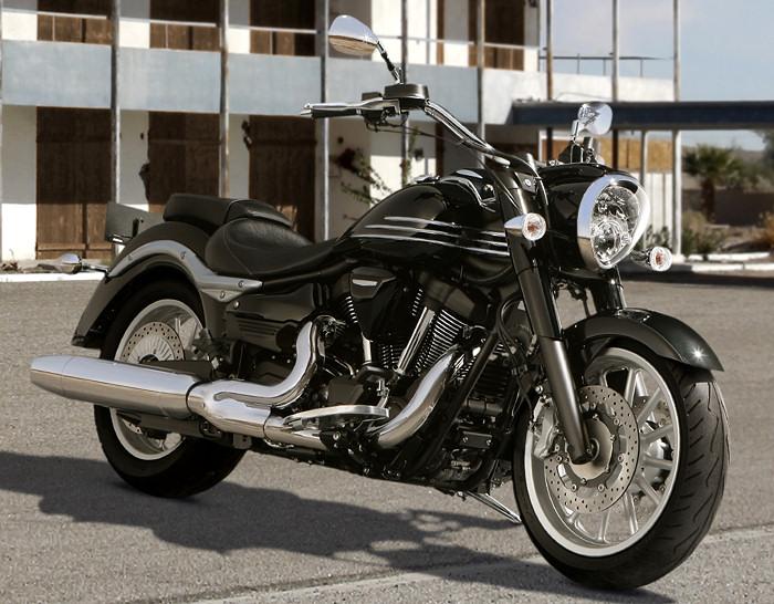 Yamaha xv 1900 a midnight star 2013 fiche moto motoplanete for Yamaha xv 1900