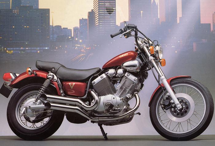 yamaha 535 virago 1988 fiche moto motoplanete. Black Bedroom Furniture Sets. Home Design Ideas