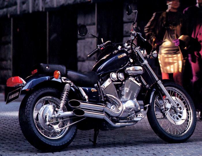 yamaha 535 virago 1992 fiche moto motoplanete. Black Bedroom Furniture Sets. Home Design Ideas