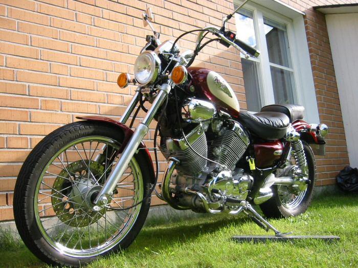 Yamaha 535 virago 1999 fiche moto motoplanete for Yamaha clp 535 for sale